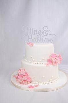 16 Besten Hochzeitstorten Bilder Auf Pinterest Newlyweds Cake
