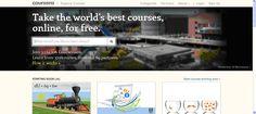 Coursera es una plataforma de educación virtual, desarrollada por académicos de la Universidad de Stanford con la colaboración de 69 Universidades, que ofrece cursos gratuitos sobre temas variados.