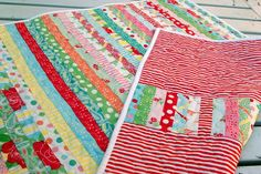 SWEET BABY COT QUILT BLANKET - by blackcurrantsmile on madeit