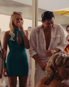 margotdicaprobbie:  Leonardo DiCaprio & Margot Robbie in The Wolf Of Wall Street (2013)