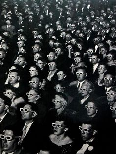 the first American full-length 3D film in color at the Paramount Theater in Hollywood on November 30, 1952.