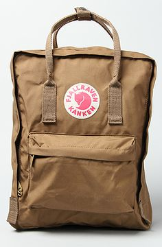 Fjallraven The Kanken Original Backpack in Sand, 20% off your order with Rep Code: PAMM6