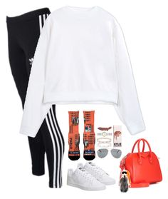 """Sans titre #604"" by mikashh ❤ liked on Polyvore featuring The High Rise, adidas Originals, Acne Studios, adidas, Givenchy, Fendi, Yves Saint Laurent, Cartier and Burberry"