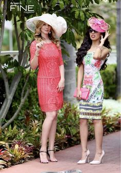 Great look to wear for a day at The Del Mar Races Hat Contest Opening Day Summer Meet. Hair by @deenasavvy