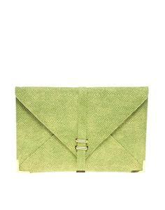 ASOS   ASOS Slot Through Envelope Clutch at ASOS