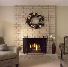 Brick-Anew Fireplace Painting Kit *Twilight Taupe - a combination of taupe, tan, beige and cream. Our most popular color blends easily with a wide variety of home decors and resembles tumbled marble or natural sandstone. Works with: tan, taupe, beige or medium color tones.