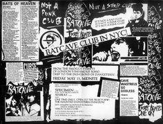 Back in the original Goth club opened over at Soho in London (most notably at Gossips formally known as Billy's, located on 69 Dean St) This was a club… 80s Goth, Punk Goth, Soho, The Cure Live, Goth Club, Goth Subculture, Siouxsie & The Banshees, Riot Grrrl, Batcave