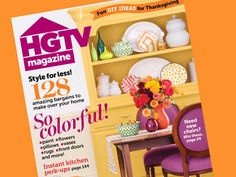 Flip through the pages of our November issue. Or at least get a sneak peek. #hgtvmagazine http://blog.hgtv.com/design/2013/10/18/inside-the-november-issue-of-hgtv-magazine/?soc=pinterest