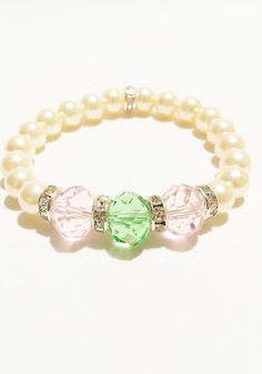 Pink and Green Jewelry / Pink and Green by VickysLittleSecrets, $10.50