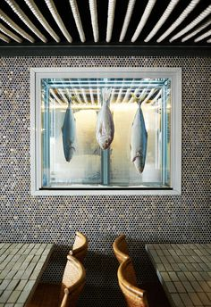 Window Display #produce #fish