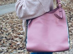 My favorite bag from Burberry #burberry #bag #handbag #pink #fashion #style
