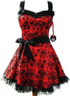 Black and red dress.... bridesmaid dresses