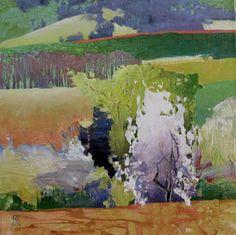 "Painter's Process - Randall David Tipton ""Eola Hills Studies"" Oregon Landscape"