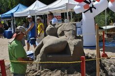 Pop-up tents along the beach. Pop Up Tent, Tents, Castles, Special Events, Anniversary, Beach, Frame, Teepees, Picture Frame