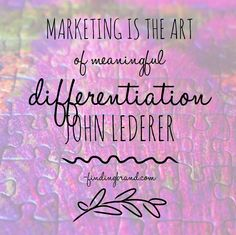 Are you #marketing or are you just #advertising? #quote #brand #branding #marketing