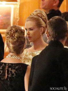 Nicole Kidman as Grace Kelly