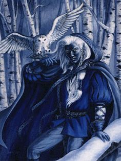 Drow - mythical elf-like creature   in Scottish folklore which lived in caves and forged magical metal work.