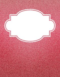 Free printable red glitter binder cover template. Download the cover in JPG or PDF format at http://bindercovers.net/download/red-glitter-binder-cover/
