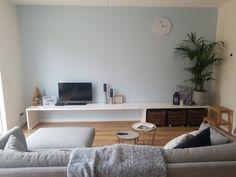 Ons mooie zelfgemaakte tv-meubel