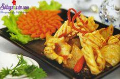 Hướng dẫn nấu món mực xào tương cay hấp dẫn từng miếng -Sotaynauan.com