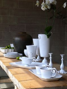 Astier de Villatte at Trove. LOVE LOVE LOVE their ceramics !!