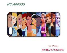 Phone Cases, iPhone 5/5S Case, iPhone 5C Case, Disney princess, iPhone 4/4S Case, Phone covers, Case for iPhone-500535