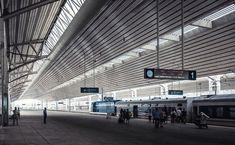 Pyang-Yang Gare déserte