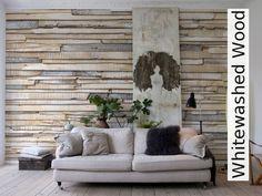 Tapete: Whitewashed Wood - TapetenAgentur