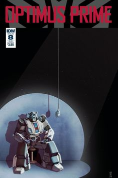 IDW's Optimus Prime #8 - Three Page iTunes Comic Preview