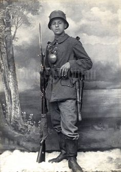 """Bavarian Infantryman, Augsburg circa 1916 