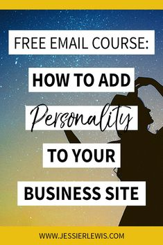 Authentic Copy - Learn how to add personality to your business site in my free email course Business Tips, Online Business, Create Your Website, Free Email, Starting A Business, Need To Know, I Am Awesome, Personality, How To Make Money