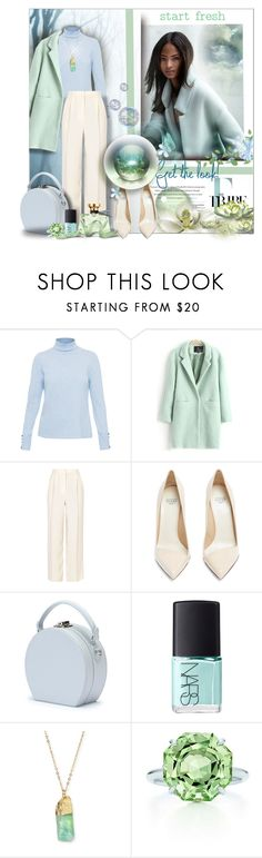 """""""In Mint Condition!"""" by angelflair ❤ liked on Polyvore featuring Burberry, JULIANNE, The Row, Francesco Russo, Handle, NARS Cosmetics, Panacea, Tiffany & Co. and Bulgari"""
