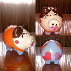 See 404 photos from 6091 visitors about cute, swimming pool, and casual. Pigs, Piggy Bank, Four Square, Safe Room, Pink, Piglets, African, Paintings, Money Box