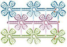Bufanda a ganchillo-crochet con flores   Blog de La Casa del Punto