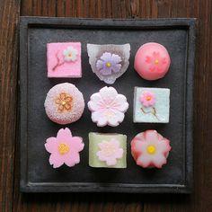Sakura themed jellies