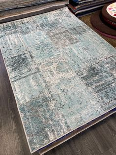 Patchwork Rugs, Patchwork Patterns, Patchwork Designs, Teal Rug, Teal Accents, Office Rug, Modern Rugs, Amalfi, Vintage Looks
