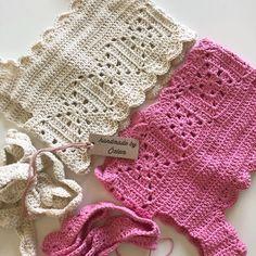 IG ~ ~ crochet yoke for girl's dress ~ finished yoke before joining the underarmsEaster Morning set for 18 inch DollsCrochet Baby Bib from Vintage PatternNo image description. Crochet Yoke, Crochet Fabric, Cotton Crochet, Free Crochet, Crochet Patterns, Crochet Toddler, Baby Girl Crochet, Crochet Baby Booties, Diy Crafts Crochet