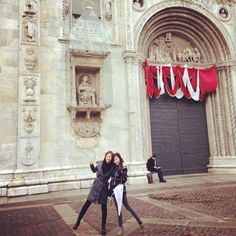 """Sunday at the duomo@como(: xoxo yulti♥"""