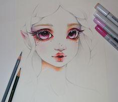 Light Elf Girl by Lighane.deviantart.com on @DeviantArt