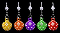 How To Make Crystal Beaded Keychain At Home   DIY Beaded Tutorials