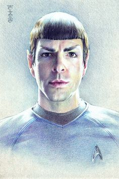 Reboot!Spock fanart this is gorgeous w o w