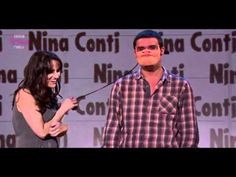Nina Conti on Russel Howard's Good News. Ventriloquist.