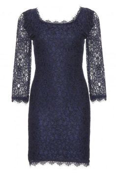 Diane von Furstenberg Zarita Lace Dress, $477; mytheresa.com