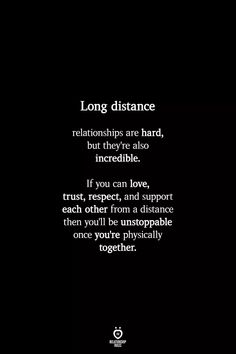 💓💓💓 Soulmate Love Quotes, Heart Quotes, Love Quotes For Him, Long Distance Love Quotes, Quotes Distance, Long Distance Relationship Quotes Miss You, Long Distance Boyfriend, Reality Quotes, Mood Quotes