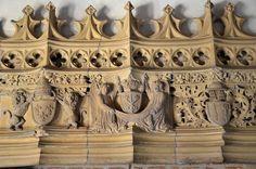 Cluny (Saône-et-Loire) - Abbaye - Palais Jean de Bourbon (Musée Ochier) - Cheminée (détail)   Flickr - Photo Sharing!