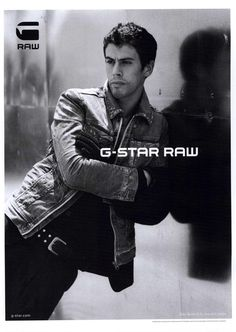 Toby Kebbel  by Anton Corbijn for Fall / Winter Collection 2009 G-Star
