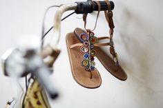 Etnische sandalen