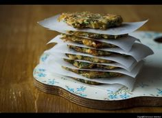 Kohlrabi fritters: Yup - when other recipes fail, you can always FRY it!