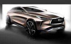Infiniti To Unveil QX50 Concept At 2017 Detroit Auto Show