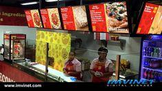 Menu Digital de EconoPizza #Panama #DigitalSignage @IMVINET